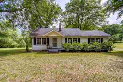 Greer Single Family Home For Sale: 1342 Milford Church Road