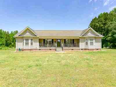 Woodruff Single Family Home For Sale: 1609 Cross Anchor Rd