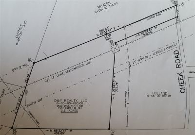 Spartanburg Residential Lots & Land For Sale: 140 Cheek