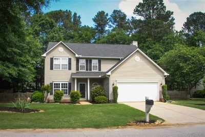 Duncan Single Family Home For Sale: 514 Forest Shoals Ln