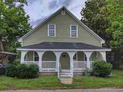 Woodruff Single Family Home For Sale: 458 Branch St
