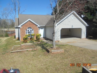 Simpsonville Single Family Home For Sale: 511 Fairview Lake Way