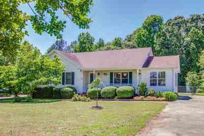 Greenville County Single Family Home For Sale: 121 Hillcrest Drive
