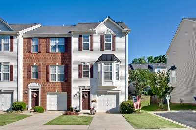 Simpsonville Condo/Townhouse For Sale: 44 Heritage Oak Parkway