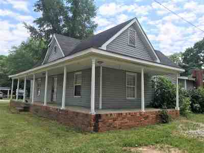 Woodruff Single Family Home For Sale: E 1400 Georgia Road