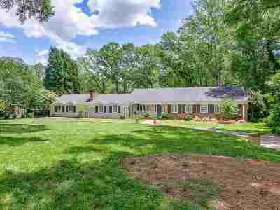 Spartanburg Single Family Home For Sale: 1080 Partridge Rd
