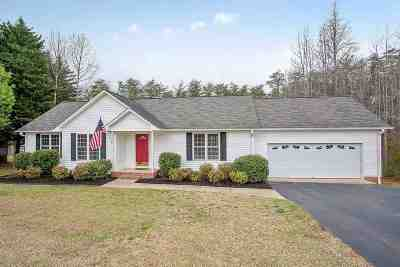 Single Family Home For Sale: N 112 Johnson Circle