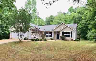 Lyman Single Family Home For Sale: 116 Hammett Store Road