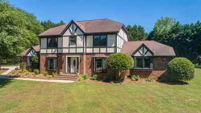 Spartanburg Single Family Home For Sale: 206 Dunbarton Drive