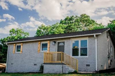Inman Single Family Home For Sale: 121 Maxwell St