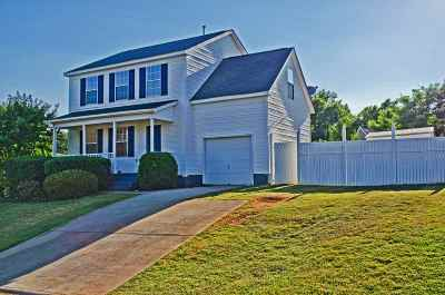 Greer Single Family Home For Sale: 1 Seven Pines Court