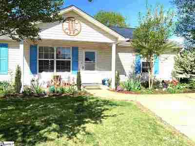 Duncan Single Family Home For Sale: 768 Cannonsburg Dr