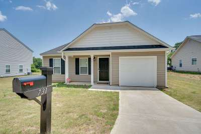 Duncan Single Family Home For Sale: 731 Cannonsburg Drive