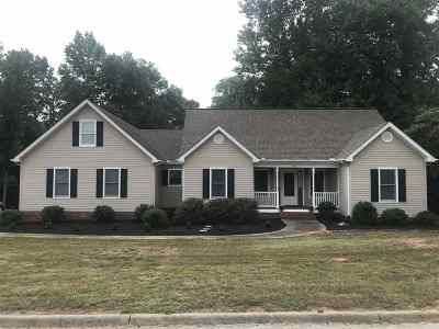 Simpsonville Single Family Home For Sale: 516 Wemberly Lane