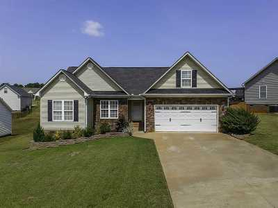 Inman Single Family Home For Sale: 120 Harvest Ridge Dr.