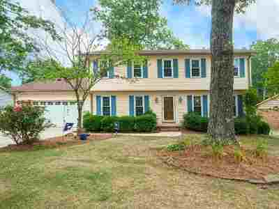 Greer Single Family Home For Sale: 604 Hedgewood Terrace