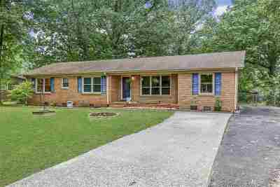 Greenville Single Family Home For Sale: S 101 Oak Forest Drive