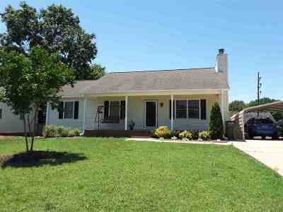 Spartanburg Single Family Home For Sale: 150 Loblolly
