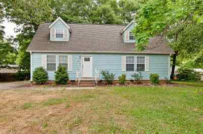Greenville Single Family Home For Sale: 220b Virginia Ave