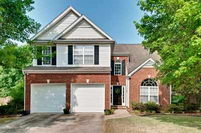 Greenville Single Family Home For Sale: 2 Stapleford Park Drive