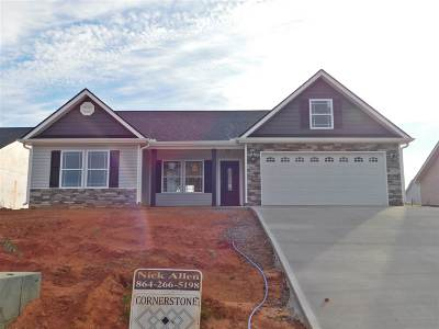 Inman Single Family Home For Sale: 155 Highland Springs Loop