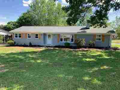 Greer Single Family Home For Sale: 509 Henderson Cir