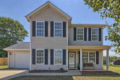 Taylors Single Family Home For Sale: 2 Whileaway Ct