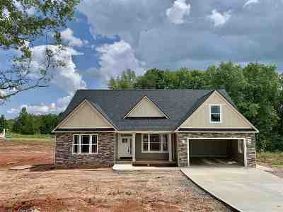 Inman Single Family Home For Sale: 121 Weatherly Road Lot 4