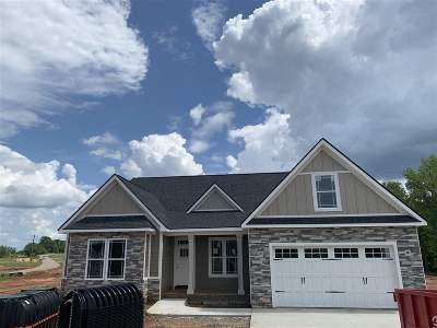 Inman Single Family Home For Sale: 107 Weatherly Road Lot 6