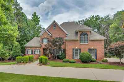 Spartanburg Single Family Home For Sale: 819 Inverness Circle