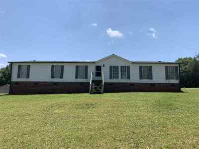 Greenville County Mobile Home For Sale: 1644 South McElhaney Road