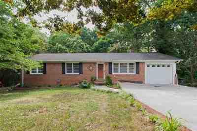 Greenville Single Family Home For Sale: 118 Sunderland Drive