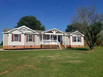 Duncan Single Family Home For Sale: E 750 Victor Hill
