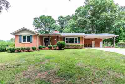 Greenville County Single Family Home For Sale: N 105 Oak Forest Drive