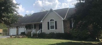 Moore Single Family Home For Sale: 155 Bradford Drive Moore Sc