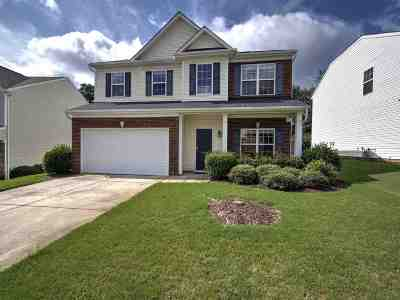 Greer Single Family Home For Sale: 412 Chartwell Drive