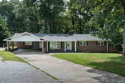 Spartanburg SC Single Family Home For Sale: $124,900
