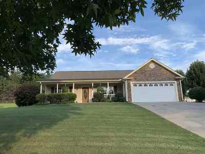 Inman Single Family Home For Sale: 235 Bent River
