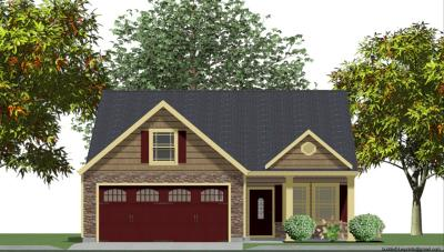 Inman Single Family Home For Sale: 313 Trail Crossing Lane- Lot 94