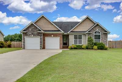 Inman Single Family Home For Sale: 1639 Bishop Road