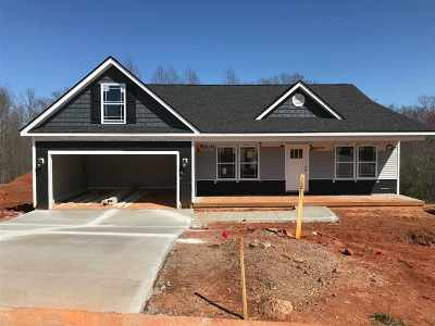 Wellford Single Family Home For Sale: 451 Silver Thorne Dr - Lot 15