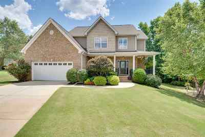 Spartanburg Single Family Home For Sale: 414 Mayburgh Court
