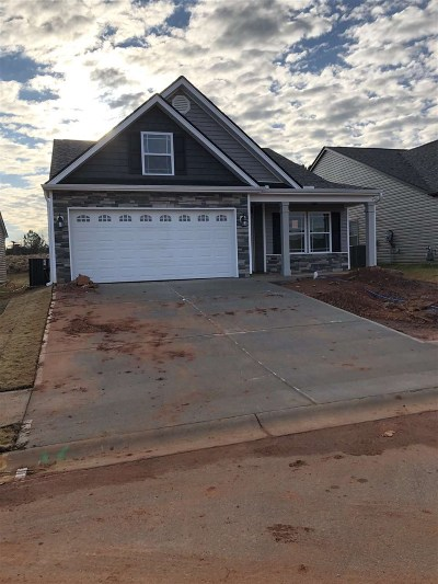 Inman Single Family Home For Sale: 361 Trail Crossing Lane - Lot 82