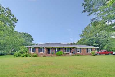 Lyman Single Family Home For Sale: 2641 Highway 357