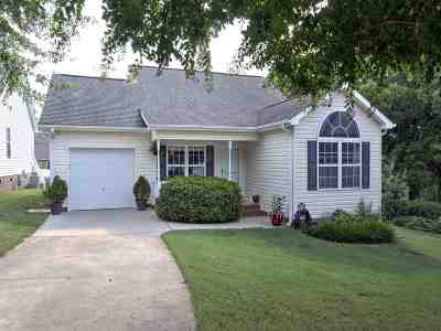 Inman Single Family Home For Sale: 622 Ezra Court
