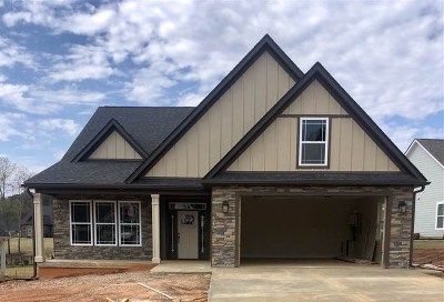 Inman Single Family Home For Sale: 315 Holly Oaks Drive - Lot 25