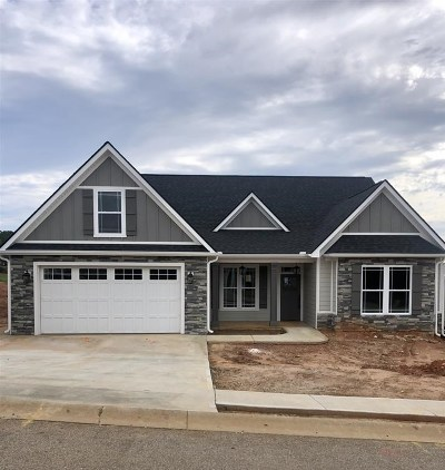 Inman Single Family Home For Sale: 101 Southern Oaks Drive - Lot 37