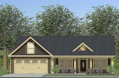 Inman Single Family Home For Sale: 355 Bryant Rd - Lot 4
