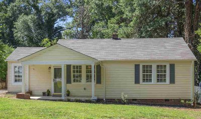 Spartanburg Single Family Home For Sale: 116 Rosemary Road