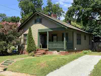 Spartanburg Single Family Home For Sale: 216 Carlisle Street